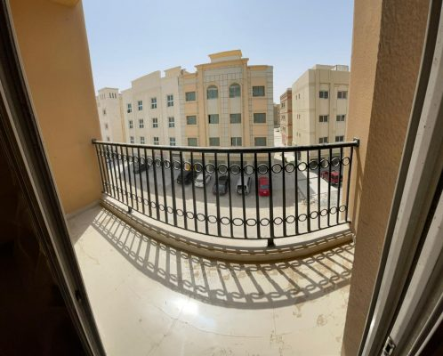 .. For rent an apartment one room and a hall with balcony in Muwailih
